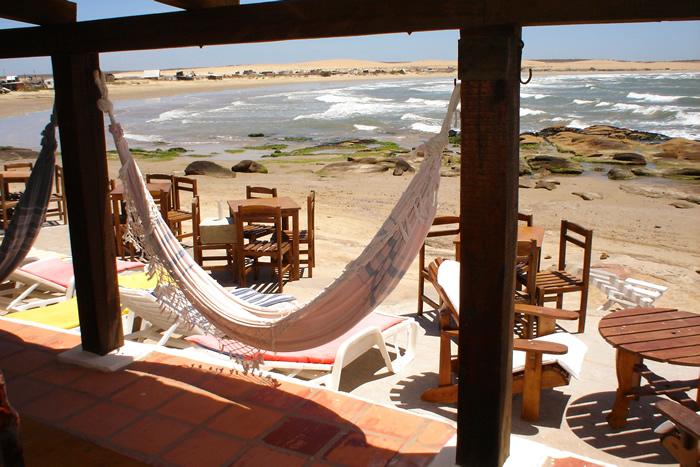 Restaurante em Cabo Pollonio. Foto: Sue Piozet