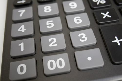 Calculadora. Foto: Flavio Takemoto