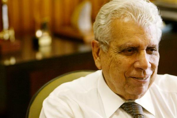 Antônio Ermírio de Moraes  (imagem: Eduardo Knapp/Folha)
