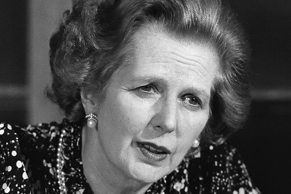 Former Prime Minister Margaret Thatcher of Britain Has Died │ image: NYT
