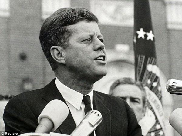 John F. Kennedy, ex presidente de Estados Unidos