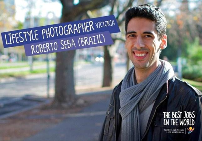 O fotógrafo Roberto Seba concorreu com mais 24 candidatos para ser um fotógrafo de estilo de vida em Melbourne (Victoria) (Divulgação)