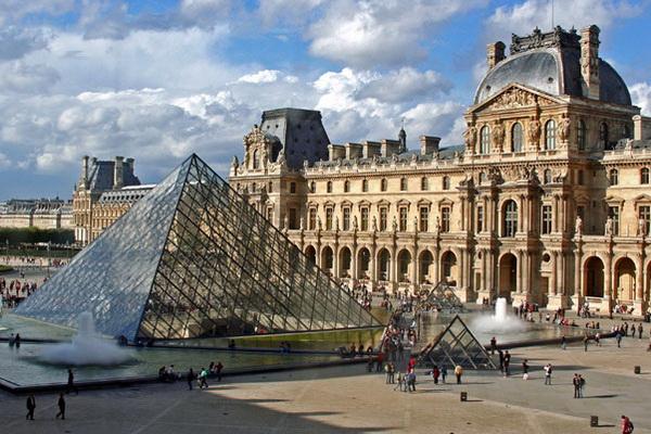Museu do Louvre, Paris (Foto: Divulgação)
