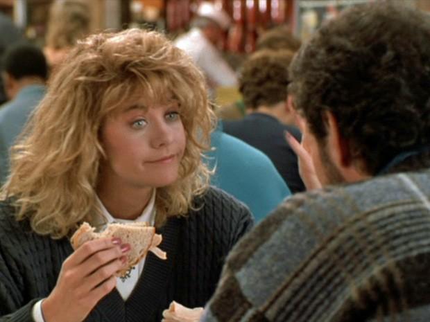 Meg Ryan no filme 'Harry and Sally: Feitos um para o outro' (Foto: Divulgação)