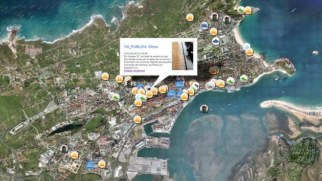 Sensores enviam informação para central de computadores, que mapeia dados em tempo real