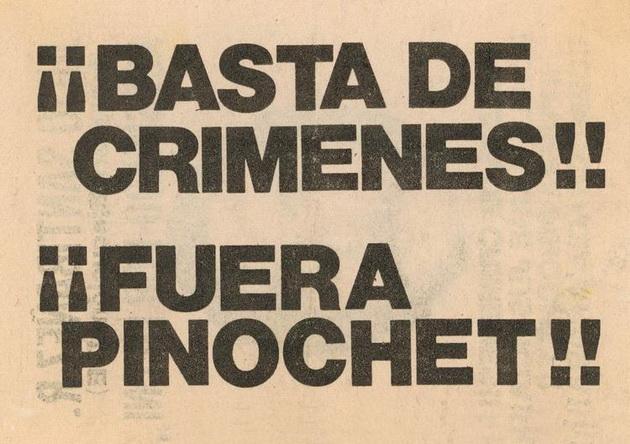 ¡¡Fuera_Pinochet!!